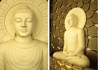 Y-walls Design_Buddha Jaali Wall_Interiors_Interior Design_Art Installation_Craft_Ministry Of External Affairs_Delhi_India