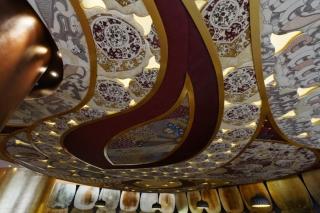 Y-walls Design_Ruby Ceiling_Interiors_Interior Design_Art Installation_India